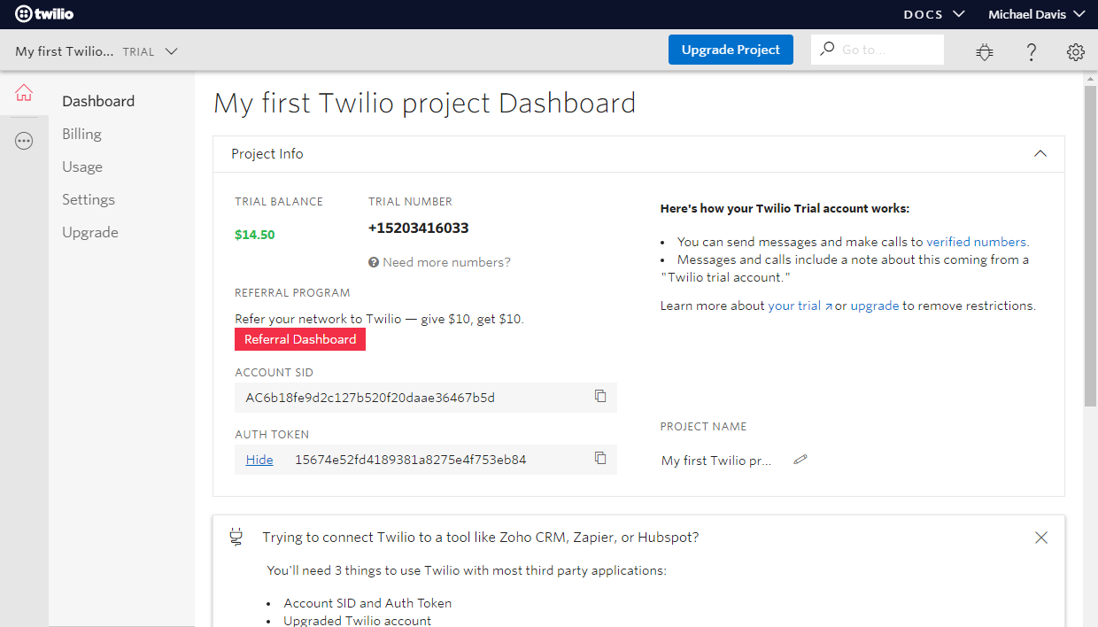 Connect Twilio to ONLYOFFICE